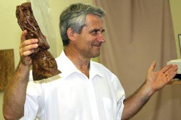 Reisinger János irodalomtörténész, bibliakutató előadása