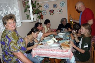 Az ittalvók Ágostonné Terike néninél kaptak szállást