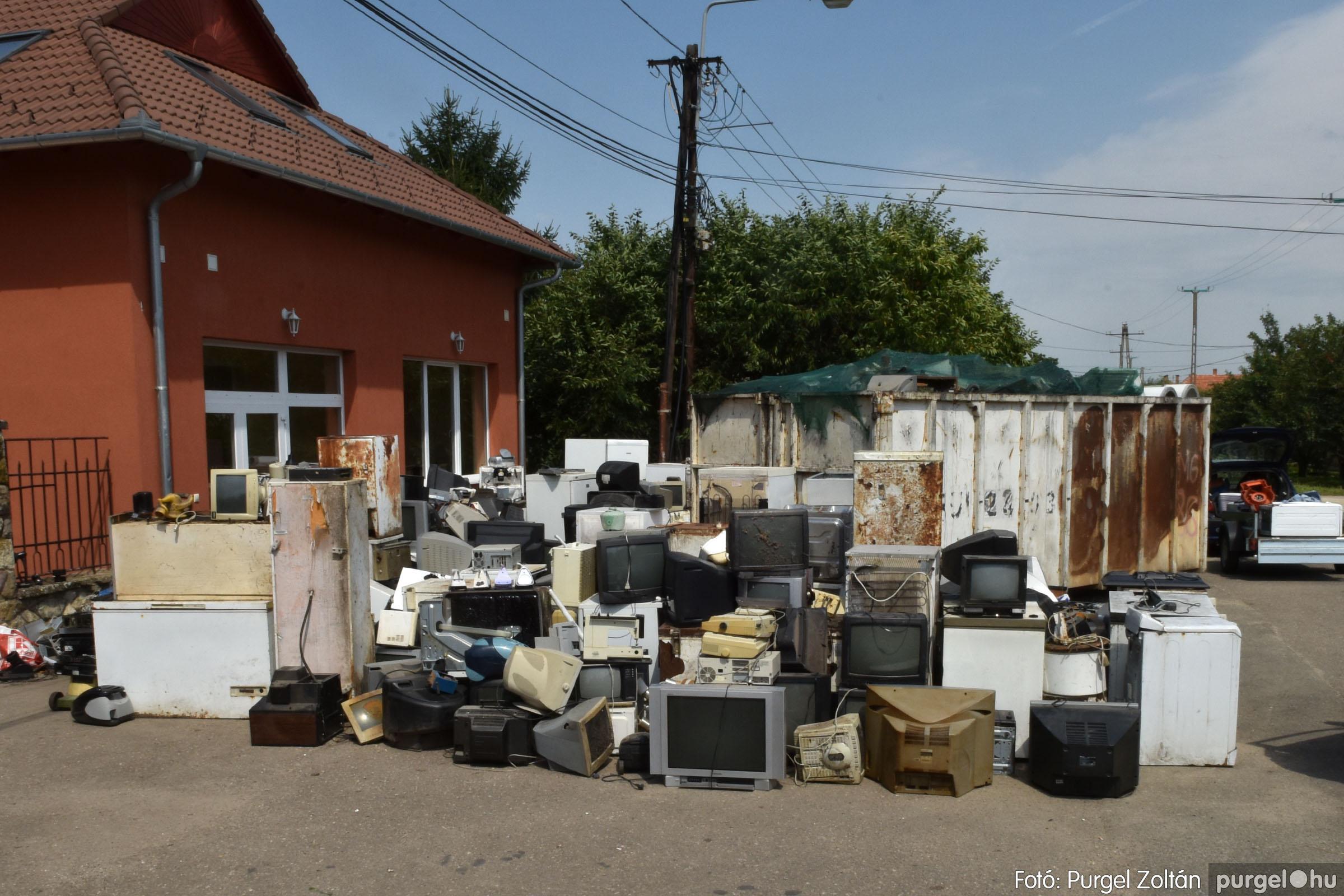 2021.08.01. 008 Elektronikai hulladékgyűjtés – Fotó:PURGEL ZOLTÁN© DSC_8570q